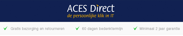 Ga naar de ACES Direct website