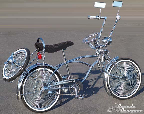 3 spaaks velgen fiets