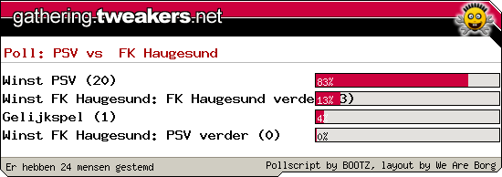 http://poll.dezeserver.nl/results.cgi?pid=402015&layout=6&sort=prc
