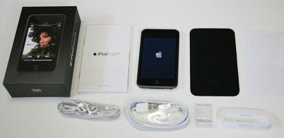 Inhoud van het iPod Touch doosje