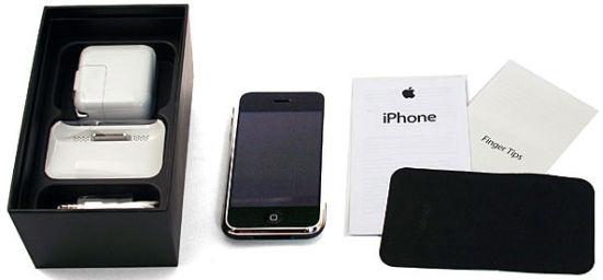 Inhoud van het iPhone doosje