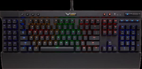 Toen was er de Corsair K95 RGB met Cherry MX toetsen, uitgebreide mogelijkheden, prima bouwkwaliteit en per toets instelbare en/of geanimeerde verlichting.