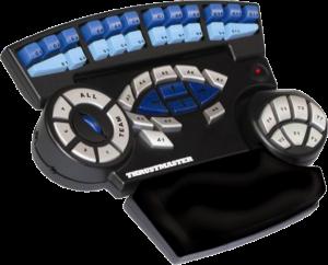 De Thrusmaster Tactical Board was één van de voorlopers van de speedpad. Niet echt handig in gebruik, maar deze helse machine uit een ver en grijs verleden deed menig hart sneller kloppen. Geloof niet alles wat die reviewer verderop zegt. Dit was zijn eerste echte speedpad.